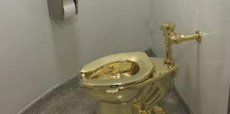 L'oeuvre d'art de Maurizio Cattelan volée au palais de Blenheim